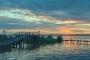 Abendrot-Promenade-Uferpromenade-Steinhude-Steg-Bootssteg-Sonnenuntergang-Abendhimmel-Daemmerung-Abendstimmung-Abendlicht-Steinhuder Meer-A_NIK500_1122