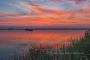 Abendrot-Wolken-Wolkenhimmel-Sonnenuntergang-Abendhimmel-Daemmerung-Abendstimmung-Abendlicht-Steinhuder Meer-B_NIK_0560