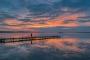 Abendrot-Wolken-Wolkenhimmel-Sonnenuntergang-Abendhimmel-Daemmerung-Abendstimmung-Abendlicht-Steinhuder Meer-C_SAM_0356-c