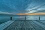 Wolken-Wolkenhimmel-Steg-Bootssteg-Abendstimmung-Abendlicht-Steinhuder Meer-B_NIK_0363