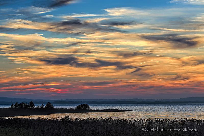Landschaftsfotos-Naturfotos-Abendrot-Abendstimmung-Ostenmeer-Steinhuder Meer-Naturpark-Landschaft-A_NIK2511-1
