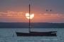 Fotos-Bilder-Landschaftsfotos-Naturfotos-Boot-Abendstimmung-Abendrot-Steinhude-Steinhuder Meer-Naturpark-Landschaft-A_NIK5217a