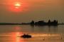 Fotos-Bilder-Landschaftsfotos-Naturfotos-Boot-Sonnenuntergang-Abendstimmung-Abendrot-Steinhude-Steinhuder Meer-Naturpark-Landschaft-AXO1I7084-01-1