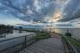 Fotos-Bilder-Landschaftsfotos-Naturfotos-Promenade-Abendstimmung-Abendrot-Steinhude-Steinhuder Meer-Naturpark-Landschaft-B_DSC1247-1