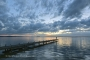 Fotos-Bilder-Landschaftsfotos-Naturfotos-Steg-Bootssteg-Abendstimmung-Abendrot-Steinhude-Steinhuder Meer-Naturpark-Landschaft-A_NIK5303