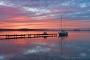 Fotos-Bilder-Landschaftsfotos-Naturfotos-Steg-Bootssteg-Boot-Abendstimmung-Abendrot-Steinhude-Steinhuder Meer-Naturpark-Landschaft-A_NIK1557-1