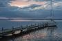 Fotos-Bilder-Landschaftsfotos-Naturfotos-Steg-Bootssteg-Boot-Abendstimmung-Abendrot-Steinhude-Steinhuder Meer-Naturpark-Landschaft-A_NIK1729-1