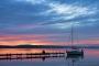 Fotos-Bilder-Landschaftsfotos-Naturfotos-Steg-Bootssteg-Silhouette-Boot-Abendstimmung-Abendrot-Steinhude-Steinhuder Meer-Naturpark-Landschaft-A_NIK1559-1