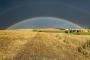 landschaft-Niedersachsen-Stoppel-Feld-Regenbogen-AXO1I5452