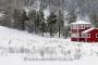 panorama-winter-schnee-verschneit-landschaft-rot-haus-landhaus-wald-Norwegen-A_DSC5165a